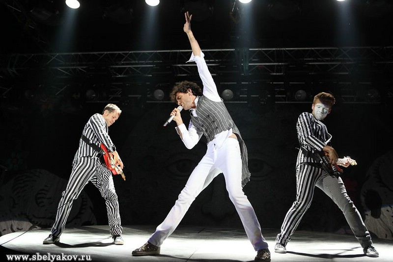 Концерт Mika в Москве