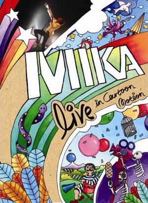 Обложка DVD Mika: Live In Cartoon Motion